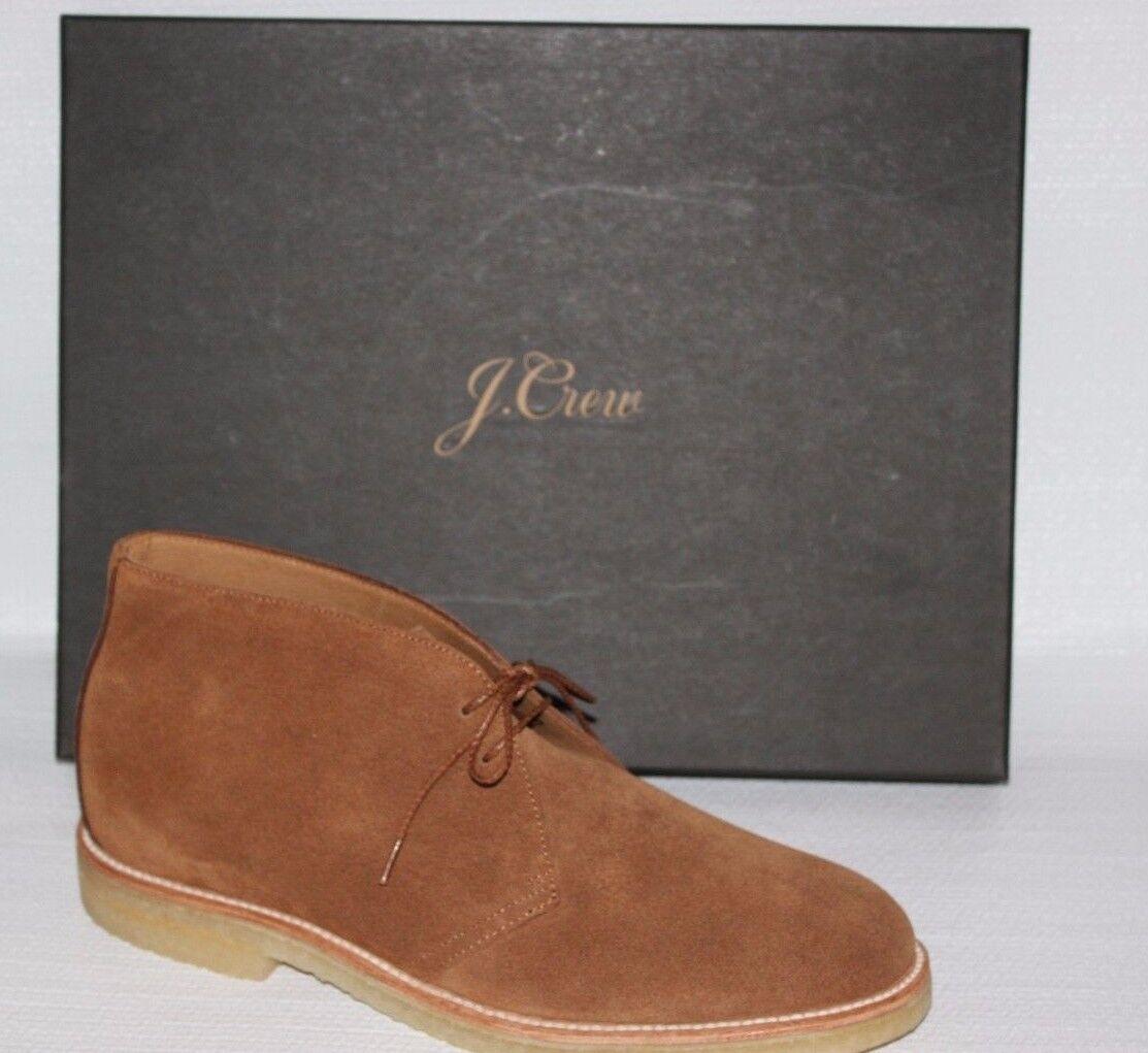 Nuevo JCrew  Kenton Crepe Suela Chukka botas Sz 10 bellota Zapatos marróns G1990