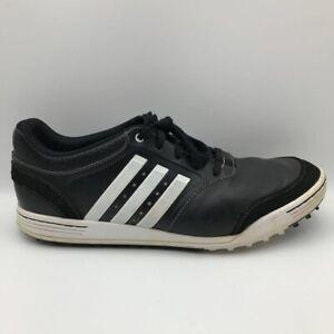 Adidas Mens Adicross III Golf Shoes Black White Q46788 Low Top ...