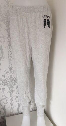 L In grigio Taglia chiaro Victoria's Bnwt salotto con da g Vs grafica Pantaloni Secret g0PqFw4vx