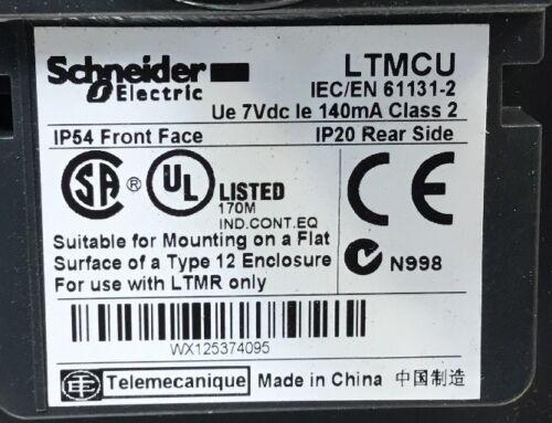 SCHNEIDER LTMCU OPERATOR CONTROL UNIT    2C