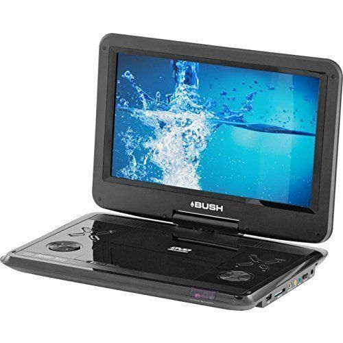 Bush 12 Inch Swivel Screen Portable Dvd Player Black For