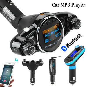 Wireless-Bluetooth-FM-Transmitter-Car-MP3-Player-Radio-USB-Charger-Handsfree-Kit