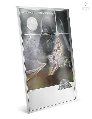 Star Wars Premium 35 grams Silver Foil!!!! Niue 2018 A New Hope