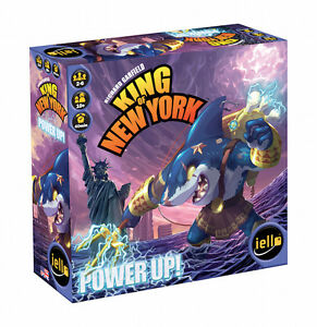 King-Of-New-York-amp-Tokyo-Power-Up-Game-Expansion-Pack-Iello-Games-IEL-51290-Shark