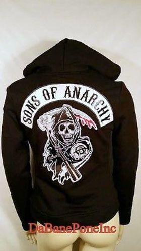 Originale Sons Sons Sons Of Anarchy Soa Highway in Pile con Cerniera Adolescenti bea279
