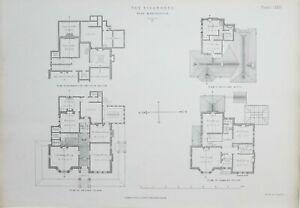 1868-Architektonisch-Aufdruck-Bergahorne-Alt-Trafford-Paull-Ayliffe-Plan