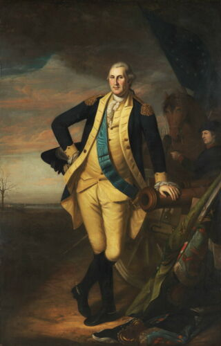 Charles Willson Peale George Washington Giclee Paper Print Poster Reproduction