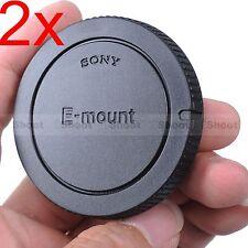 2x Body Cover Cap for Sony E-mount Camera a5000 a3000 NEX-7 NEX-6 NEX 5 5N 5R