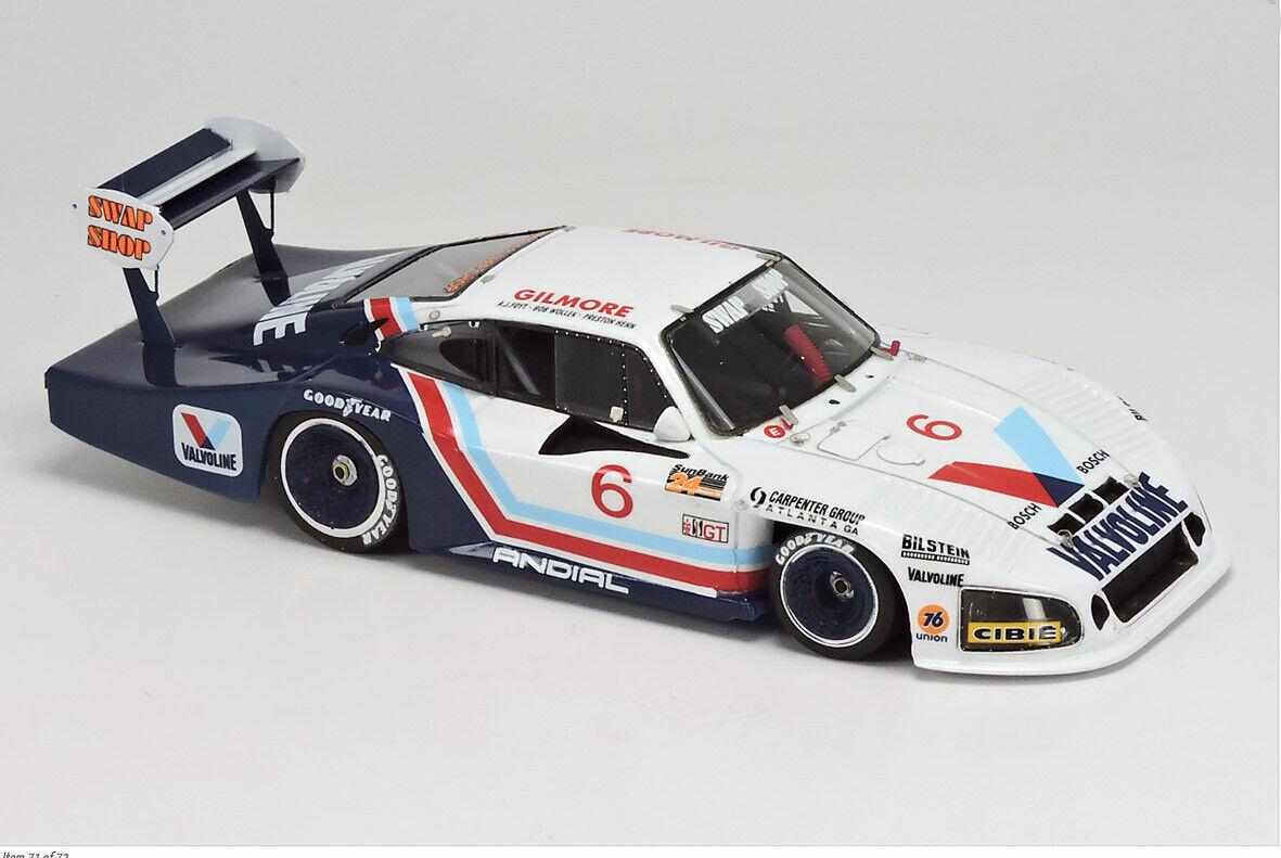 Porsche 935 L   Andial   Daytona 1984 - Hand Built Arena Models 1 43