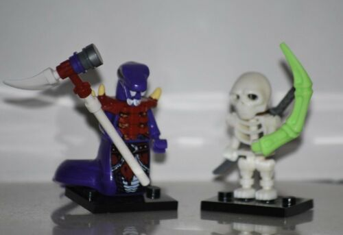 COMPLET YOUR NINJAGO WORLD Anacondrai Chop´rai  & Skeleton Serpentine