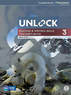 Unlock Level 3 Reading and Writing Skills Teacher's Book with DVD by Matt Firth (Mixed media product, 2014)