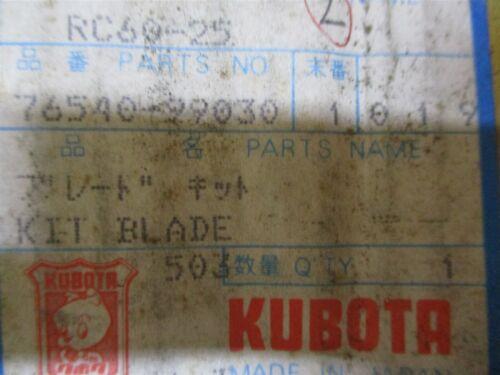76540-99030 GENUINE OEM KUBOTA LAWN MOWER BLADE SET RC60-92H RC60-25 RC60-F20