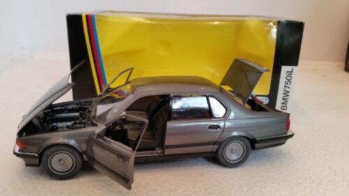 M 1:24 Schabak 1620 Modellauto grau BMW 750i