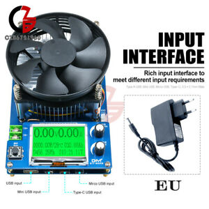 Intelligent Electronic Load Discharge 150W 150V 10A Battery Capacity Tester
