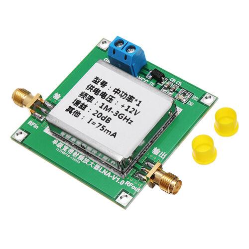 1stück Kunststoff RF Breitband Mikrowelle Leistungsverstärker Modul Grün20dB