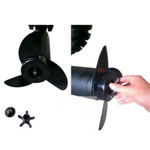 High Strength Three-blade Propeller For Electric// Trolling Motors Accessories