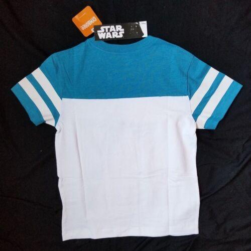Gymboree Boys Blue Short Sleeve Darth Vader Shirt M 7-8 NWT