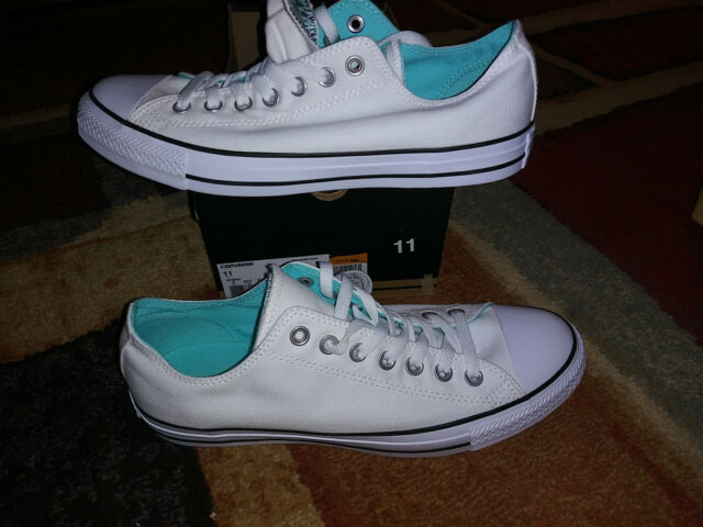 6d66129f3772 NEW  54 Womens Converse Chuck Taylor All Star Double Tongue Ox Shoes ...