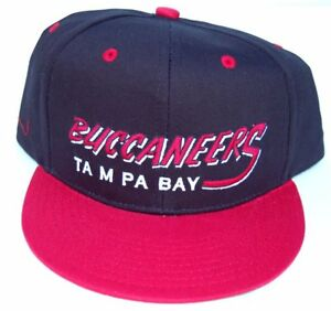 97df81eba Details about Vintage Tampa Bay Buccaneers Flatbill Snapback Cap Hat