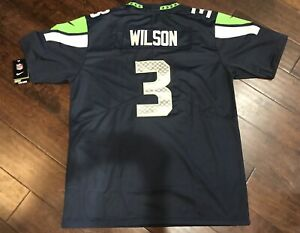 Detalles acerca de Seattle Seahawks Russell Wilson Jersey- mostrar título original