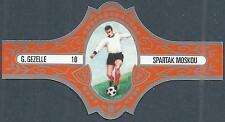 FOOTBALL CIGAR BAND-10-SPARTAK MOSKOU-SPARTAK MOSKOW