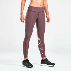 20248b063a 2XU Womens Print Mid-Rise Compression Tights Bottoms Pants Trousers ...