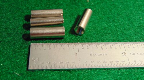 "Concord Nickel Plated Brass Threaded Stand-off 1//4/""D 3//4/""L 8x32  NOS 4"