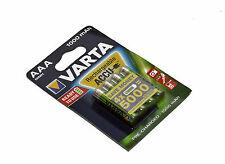 Varta Rechargeable NiMH Battery AAA 1.2 V 1000 mAh 4-Blister ACCU Ready to Use