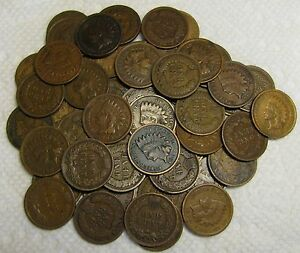 1-ROLL-OF-1909-INDIAN-HEAD-CENTS-FROM-PENNY-COLLECTION