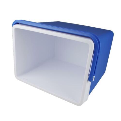 Kühlbox Kunststoff 24 Liter grau//grün oder blau Isobox Kühltasche praktisch NEU