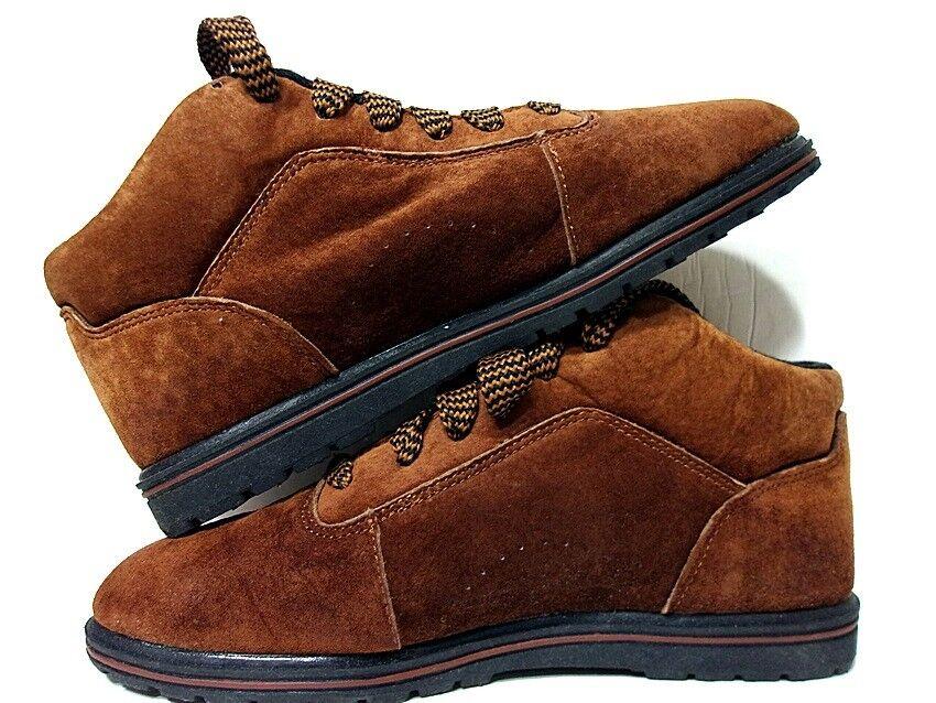 gran descuento Ciudad excursionistas para mujer botas Para Excursionismo Al Tobillo Gamuza Gamuza Gamuza Marrón De Cuero Zapatos Casuales 7.5 M  mejor calidad