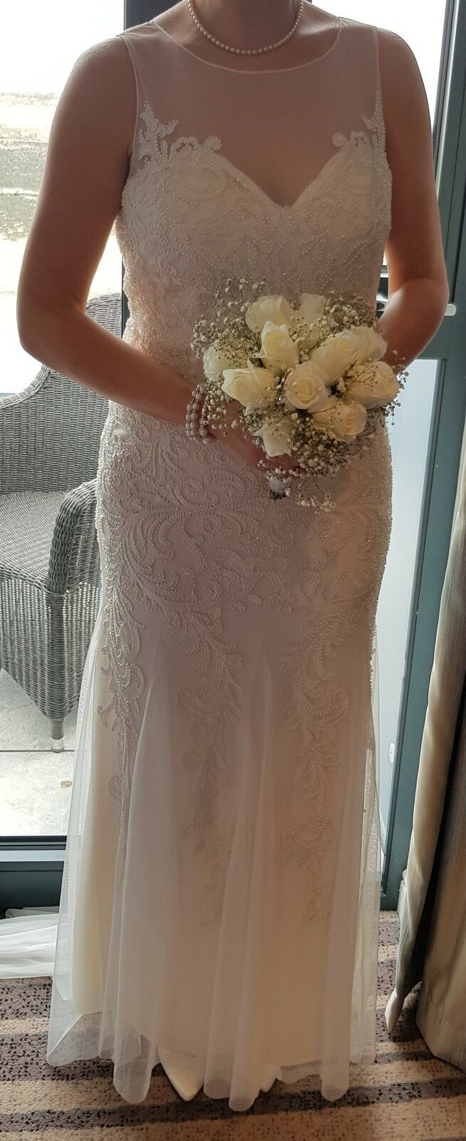 Size 12 Phase Eight Wedding Dress.