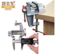 DIY Crafts® 3.5 Inch Mini Small Jewelers Hobby Clamp Table Bench Vise Tool Vicej