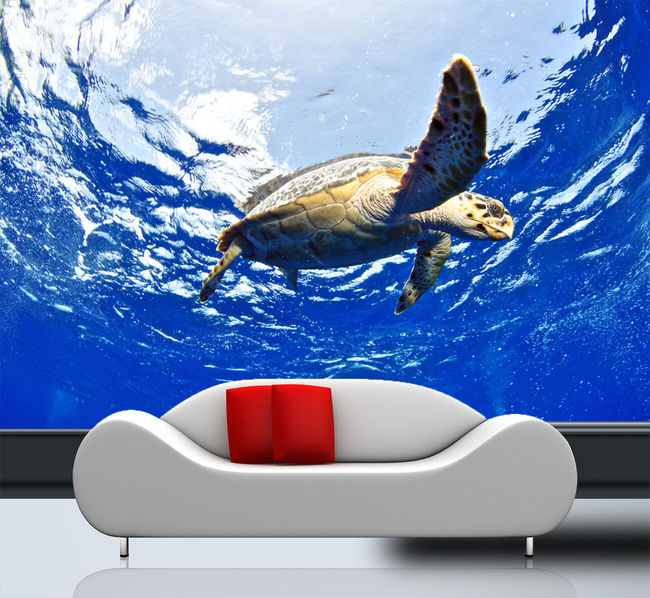 3D Sea Turtle 717 Wallpaper Mural Paper Wall Print Wallpaper Murals UK