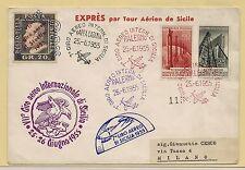 25/26.06.1955 - Espresso, Settimo giro aereo internazionale di Sicilia