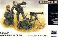 MB Masterbox - German Machinegun team Deutsche MG-Truppe Kurland Bausatz - 1:35