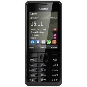 Nokia-301-RM-840-Black-3-2MP-GSM-Unlocked-Symbian-Mobile-Phone-Single-SIM