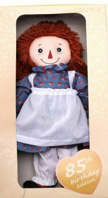 Applause 85th Birthday Edition Commemorative Raggedy Ann Doll Nrfb For Sale Online Ebay