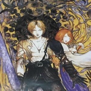 Details About Limited Final Fantasy X Poster Yoshitaka Amano Anime Game Painter Art New Japan