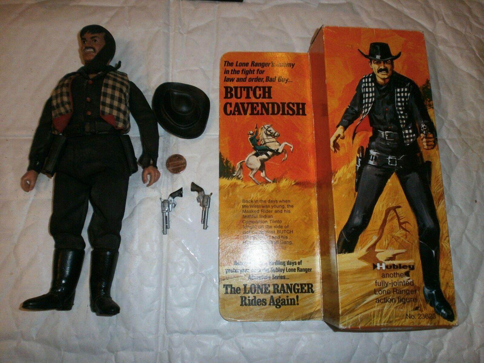 Lone Ranger Butch Cavendish Cavendish Cavendish boxed figure Hubley 23623 1973 586f15