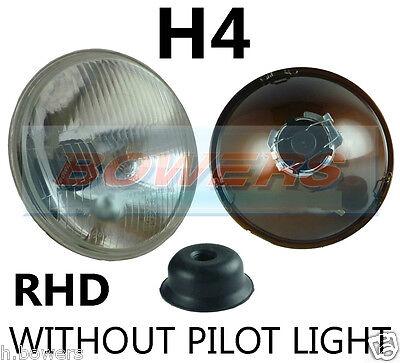 """7 """"classico Auto Sigillato Trave Proiettore Luce Anteriore Alogena H4 Conversione W / Out Pilota-"""