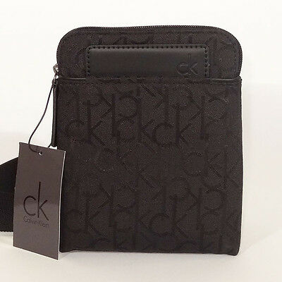 Calvin klein Bag NEW Black VOYAGER BODY BAG Shoulder/Messenger mini Bag
