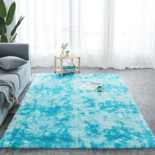 Thick Shaggy Large Rugs Hallway Rug Runner Non Slip Living Room Carpet Fluffy