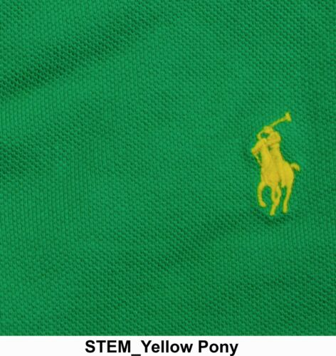 Polo Ralph Lauren MENS CUSTOM FIT MESH POLO Shirt All Sizes New Color Add!