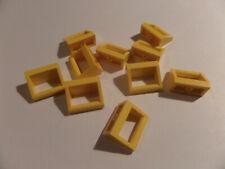 LEGO 30 x Bügel Fliese 1x2 mit Griff gelb yellow slab with handle 2432 243224