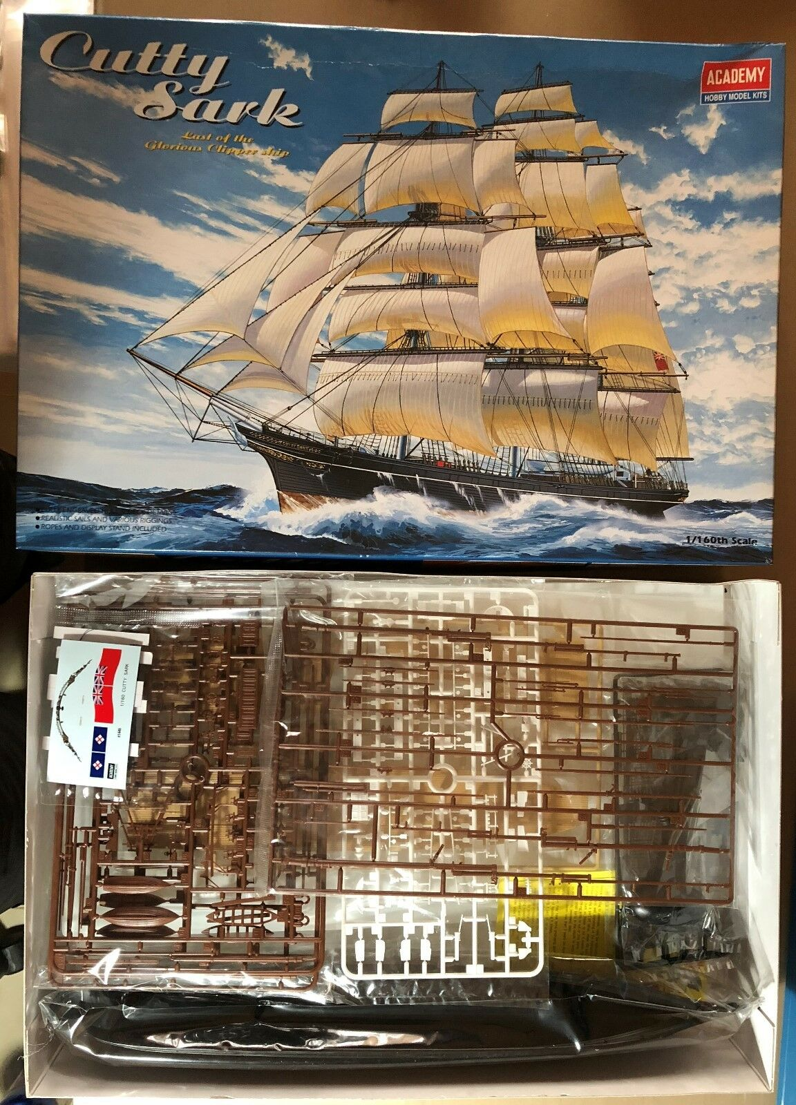 Akademie 1445 - cutty sark klipper - 1   160 - kit