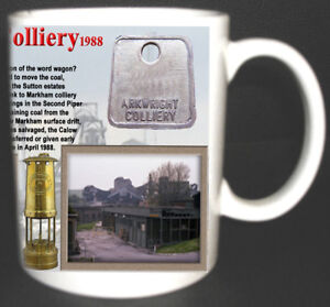 ARKWRIGHT-COLLIERY-COAL-MINE-MUG-LIMITED-EDITION-GIFT-MINERS-DERBYSHIRE-PIT