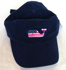 379944773f7 Image is loading Vineyard-Vines-NWT-Navy-Blue-US-Flag-Whale-