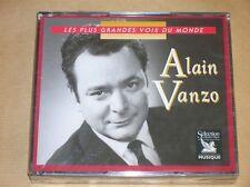BOITIER 3 CD RARE/ ALAIN VANZO, LES PLUS GRANDES VOIX DU MONDE / READER'S DIGEST