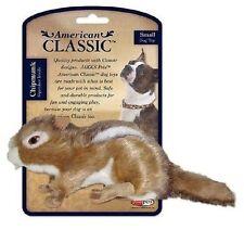 JAKKS AMERICAN CLASSIC SMALL CHIPMUNK Squeaker Plush Dog Toy